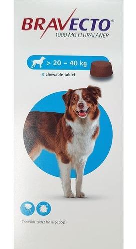 Bravecto 1000 Mg. 20-40kg.