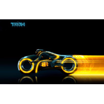 Lienzo Tela Motocicleta Tron Legacy , 60 X 100 Cm, Poster