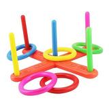 Bf Toys Juego De Punteria Con Aros De Plástico Para Niños