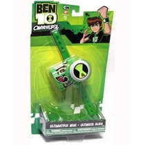 Juguete Reloj Ben 10 Ultimatrix Verde
