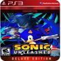 Sonic Unleashed Ps3 (8gb) -  Licencia Digital