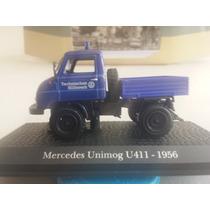 Camion Mercedes Benz Unimog U-411. Año 1956. Esc. 1:43