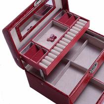 Alajero Rojo Con Tres Niveles Y Espejo