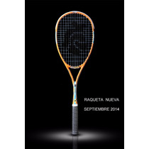 Raqueta Squash Black Knight Ion Element Psx Selby