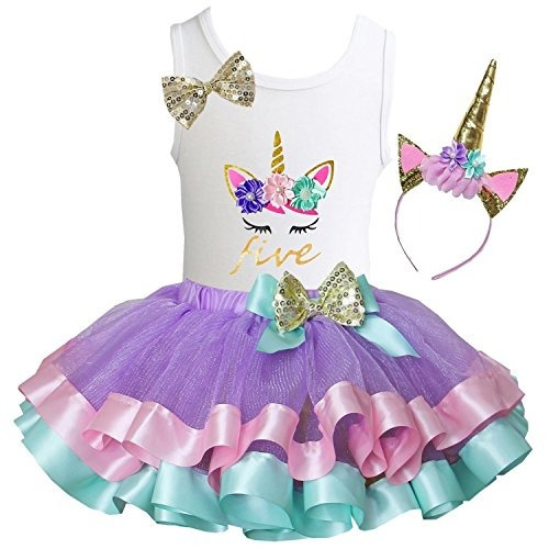 2947bba60a Vestido Fiesta Disfraz Unicornio Niña Princesa en venta en Juárez ...