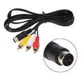 Retro-bit Rca Av Audio Video Cable Sega Genesis 2 Y 3