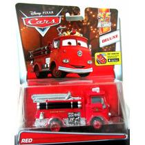 Disney Cars Red Bombero Rojo Deluxe Mattel 2016