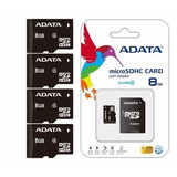 Adata Lote De 10 Memorias Micro Sd 8 Gb Adata Envio Gratis!
