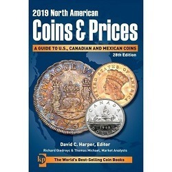 Catalogo North American Coins And Prices 2019 Canada Usa Mex