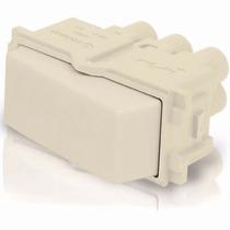 Interruptor Sencillo Marfil Abs Polipropileno Voltech 48084