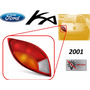 2001 Ford Ka Calavera Trasera Sin Arnes Lado Izquierdo