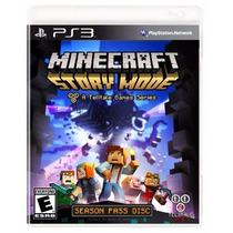 Minecraft: Story Mode - A Telltale Para Ps3 En Start Games