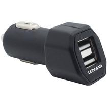 Cargador Carro Bateria Usb Puerto 4.2 A Total Aidcu4 Lenmar