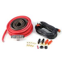 Knukonceptz Red Kca Completa Calibre 4 Kit De Cableado De In