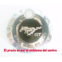 Mustang Emblema Caballo Solo Cajuela Metalico 2005 Al 2009