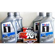 Filtro K&n Harley Davidson Mas Aceite Sintetico 20w-50