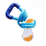 Chupon Bebe Fruta Alimentos Papilla 4 Colores Mejor Calidad