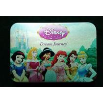 Caja Aluminio De 6 Monedas De Las Princesas De Disney