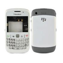 Carcaza Caratula Blackberry 8520 8530 Curve Blanco Original