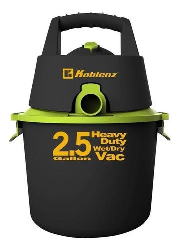 Aspiradora Koblenz Seco-mojado Wd-2.5k 9.5l Negra Y Verde