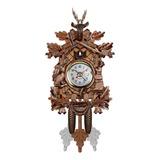 Reloj De Pared De Cuco Bird Wood Home Cafe Art