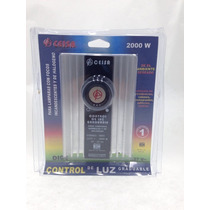 Atenuador Dimmer Control De Luz Graduable Deslizable 2000 W