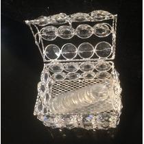 Arras Chapa Plata Cristal Octagon