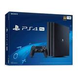 Consola Sony Ps4 Pro 1 Tera Negra - Nueva - Facturada