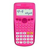 Calculadora Casio Científica Rosa Fx-82laplus-pkscmh