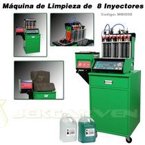 Laboratorio Limpieza De Inyectores 8 Cilindros