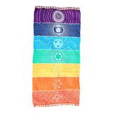 Tela Yoga 7 Chakras Meditacion Indu Manta Colores Chacras