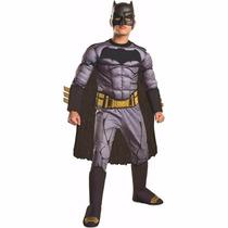 Disfraz Niño Batman Con Musculo Deluxe Batman V Superman