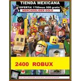 1700 Robux En Roblox