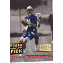 1993 Pro Set Power Gold Draft Pick Drew Bledsoe Qb Pats
