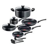 Juego Completo Cocina T-fal 12 Piezas Batería New Platinum