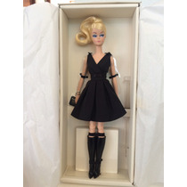 Barbie Fashion Model Classic Black Dress Gold Label.