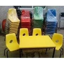 Silla Concha Polipropìleno Colores Kinder Primaria