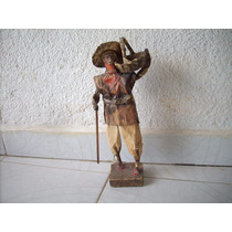 Antigua Figura De Un Viejito Ideal Para Decorar Vintage