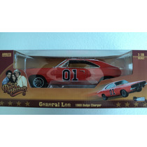 General Lee 1969 Dodge Charger Esc.1/18 The Dukes Of Hazzard