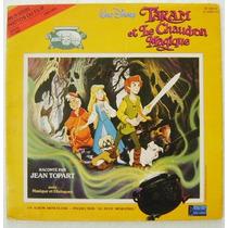 Walt Disney / Taram Et Le Chaudron 1 Disco Lp Vinil