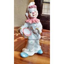 Payaso De Fina Porcelana Española
