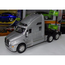 1:32 Kenworth T2000 Tractocamión Plata Welly Display