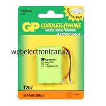 Bateria Telefonica Para Uniden Bt-1004 / Pila Aaa 3.6v 550ma