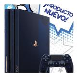 Playstation 4 Pro 500 Million Limited  Ps4 Pro 500 Pregunta