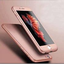 Funda Policarbonato Y Mica Cristal Templado Iphone 6/6plus
