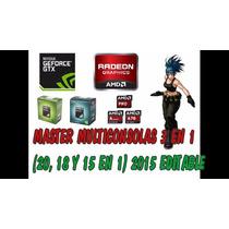 Master Multijuegos Tr3s En Un0 Sempron Athlon 2 Apus A4