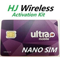 Tarjeta Sim Ultra Mobile Nano. Tarjeta De Fábrica-cut Para E