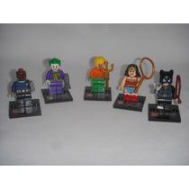 Figuras Marvel Dc Wonder Woman Joker Catwoman Aqa Tipo Legos