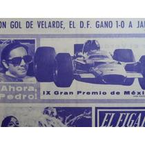 1970 Pedro Rodriguez Gran Premio Mexico Formula 1 Periodico