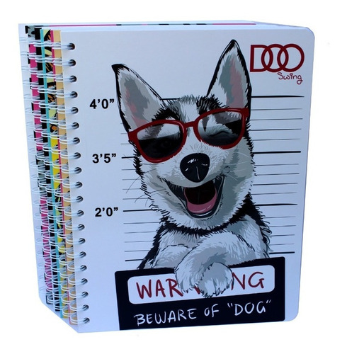 5 Cuaderno Profesional Doble Arillo 100 Hojas